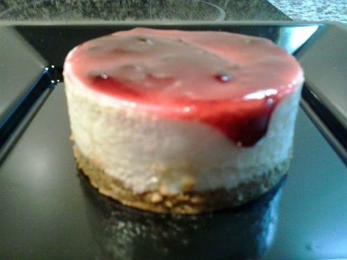 Tarta de queso y cuajada para #Mycook http://www.mycook.es/receta/tarta-de-queso-y-cuajada-2/