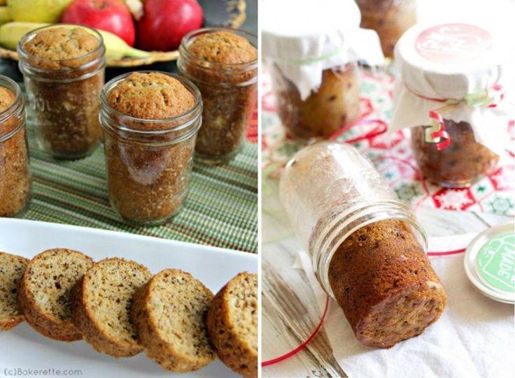 Cuisez des pains aux bananes dans des pots Mason pour un résultat bien différent! - Trucs et Bricolages