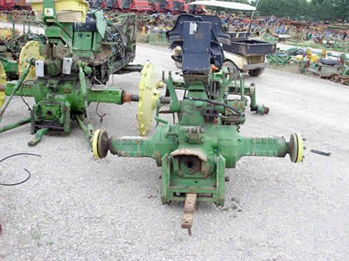 John Deere 3130 tractor salvaged for used parts. This unit is available at All States Ag Parts in Black Creek, WI. Call 877-530-2010 parts. Unit ID#: EQ-23815. The photo depicts the equipment in the condition it arrived at our salvage yard. Parts shown may or may not still be available. http://www.TractorPartsASAP.com
