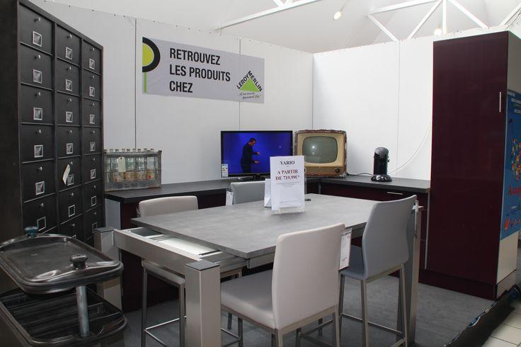 Deco Chambre Loft : Voici notre petite cuisine et nous y avons avec un mélange de style