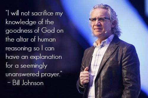 Bill Johnson on the goodness of God