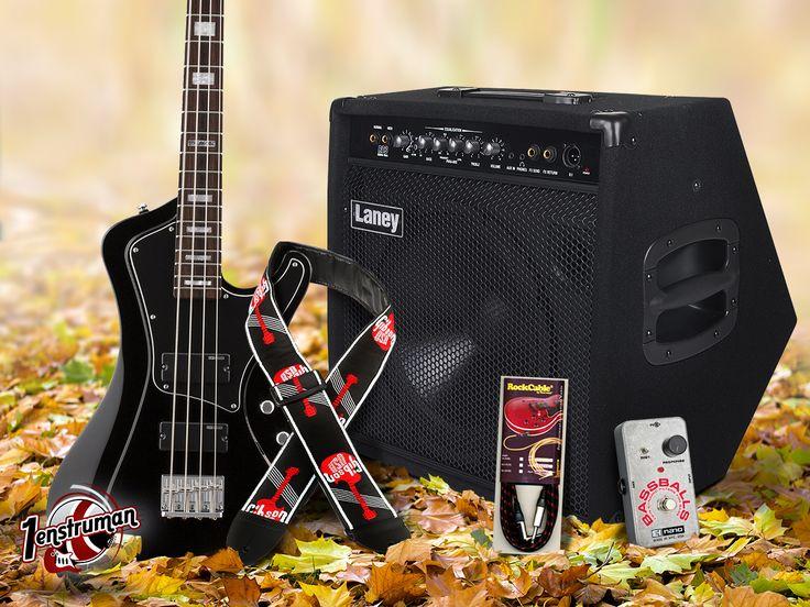 Haftanın Çarşamba Beşlisi! www.1enstruman.com/arama?q=210besli 👉 ESP LTD Stream 204BLK Bas Gitar 👉 Laney RB3 Bas Gitar Amfisi 👉 Electro-Harmonix BassBalls Filter Analog 👉 Gibson ASGG-600 Gitar Askısı 👉 Rockcable RCL 30253 Enstrüman Kablosu