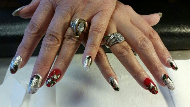 Best Nail Art Work : By user art work christmas nails nail forward
