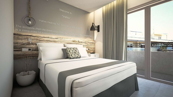 Vrachos Junior Suite - Bedroom, Elakati Luxury Boutique Hotel, Rhodes , Greece