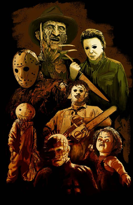 62 best horror collage images on pinterest horror films - Scary movie 5 wallpaper ...