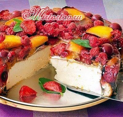 фруктовый чискейк рецепт с фото