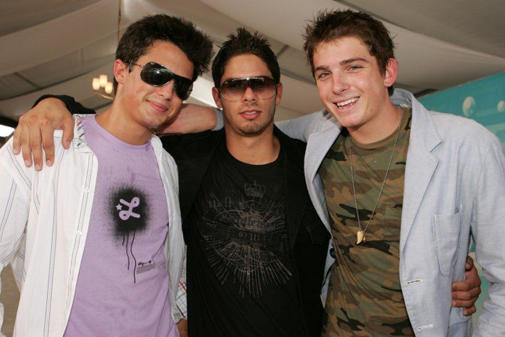 Pin for Later: Blast From the Past: The Casts of Laguna Beach and The Hills  Stephen Colletti and Talan Torriero met up with a pal on the 2005 MTV Video Music Awards carpet.