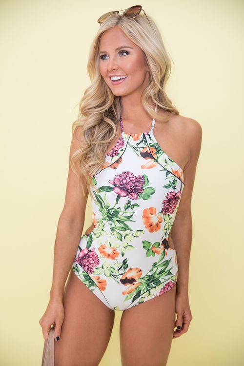 f360238c8f Girls Just Wanna Have Sun Floral Swimsuit | swimwear in 2019 ...