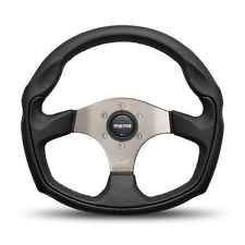 MOMO TOMCAT Black Leather Tuner Steering Wheel 350 mm TOM35BK0S