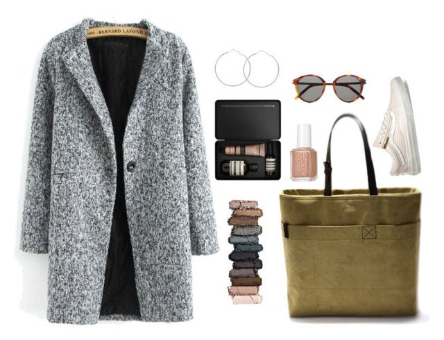 """""""Untitled #52"""" by nagy-bori on Polyvore featuring Aesop, Urban Decay, Essie, Yves Saint Laurent and Vans"""