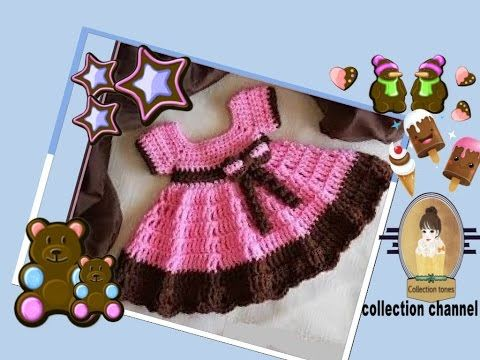 Hi Im Hanna from http://crochetsn.blogspot.com/ and this is the Lil Sugar N Spice crochet baby dress tutorial. You can get a copy of the free pattern here: h...