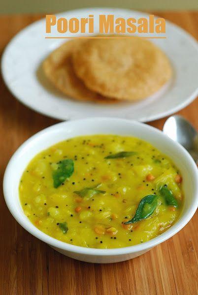 Cooking Tips by Suresh Thimiri: Poori Masala tips by Suresh Thimiri