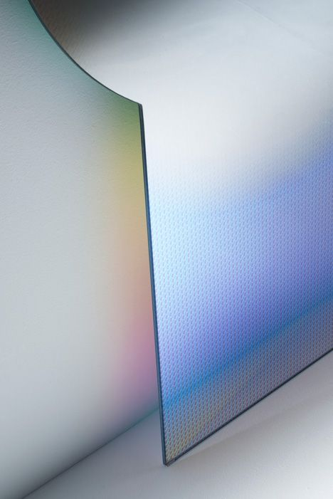 Patricia Urquiola transparent furniture for Gila Italia, launched at the Salone del Mobile in Milan 2015