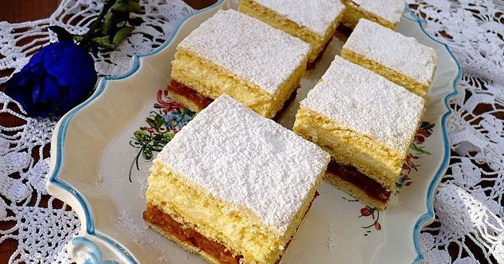Ez a süti tényleg isteni, az almától pikáns, a vaníliakrémtől pedig…