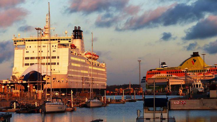 au port de Tallinn