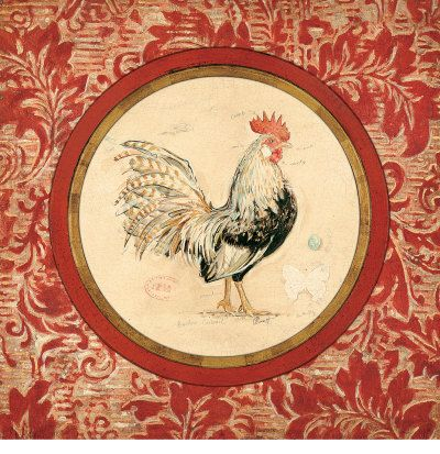 rooster drawings | Rooster Art