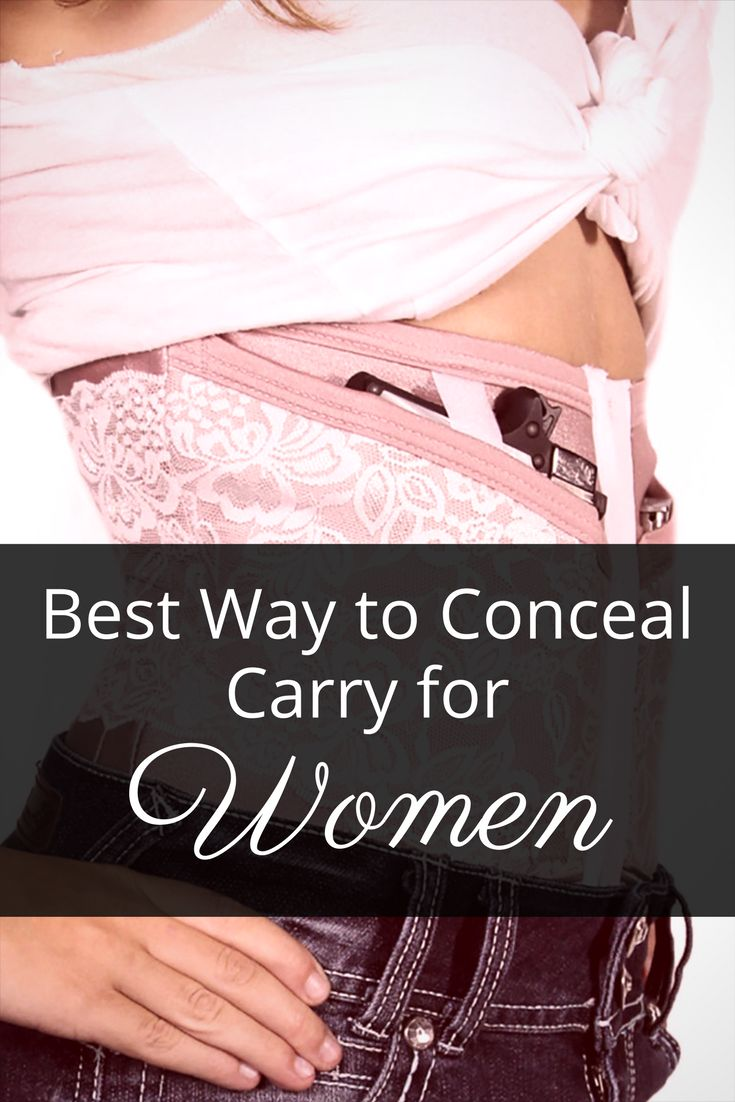Women clearly have a few challenges hiding a gun that most men don't.  We will cover the pros and cons of various different types of conceal carry for women.