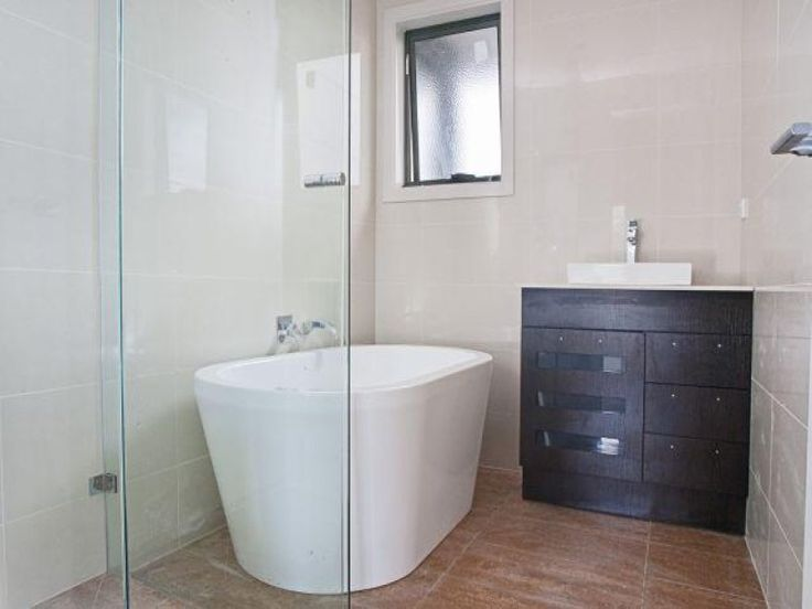 freestanding bath in small bathroom? - Google Search
