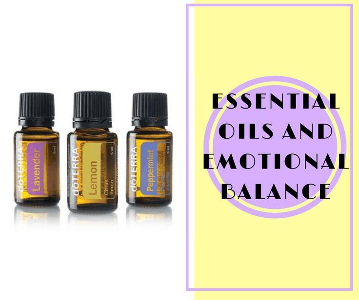 Essential Oils and Emotional Balance