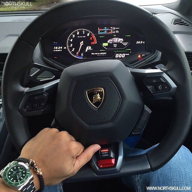 Fan Instagram Pic ! | While behind the wheel of a Lamborghini Huracan @Hafizpd…