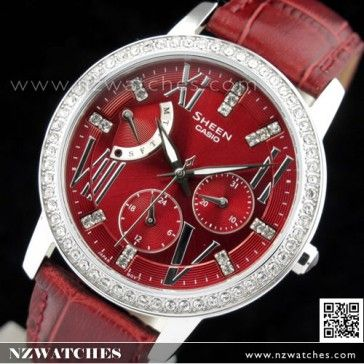 BUY Casio Sheen SWAROVSKI ELEMENTS Ladies Watch SHE-3025L-4A, SHE3025L - Buy Watches Online | CASIO NZ Watches