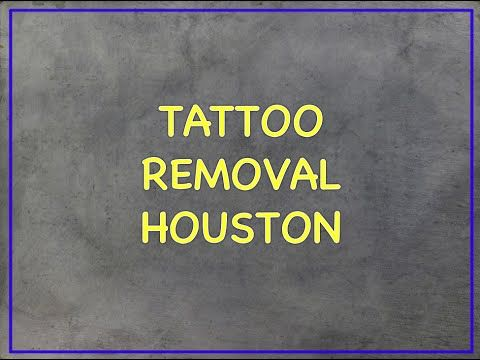 Tattoo Removal in Houston, TX - Unbelievable Results! - YouTube