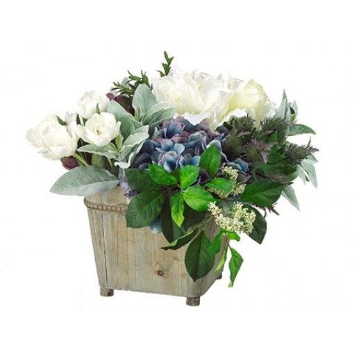 If you think that your living room needs to look better and more presentable, here's an easy fix. Our #flowers. #hydrangea #tulip #artichoke