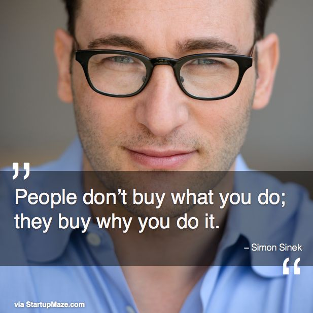 Have you seen Simon's TED Talk about finding your why? Great advice for #businessleaders. https://www.ted.com/talks/simon_sinek_how_great_leaders_inspire_action?language=en