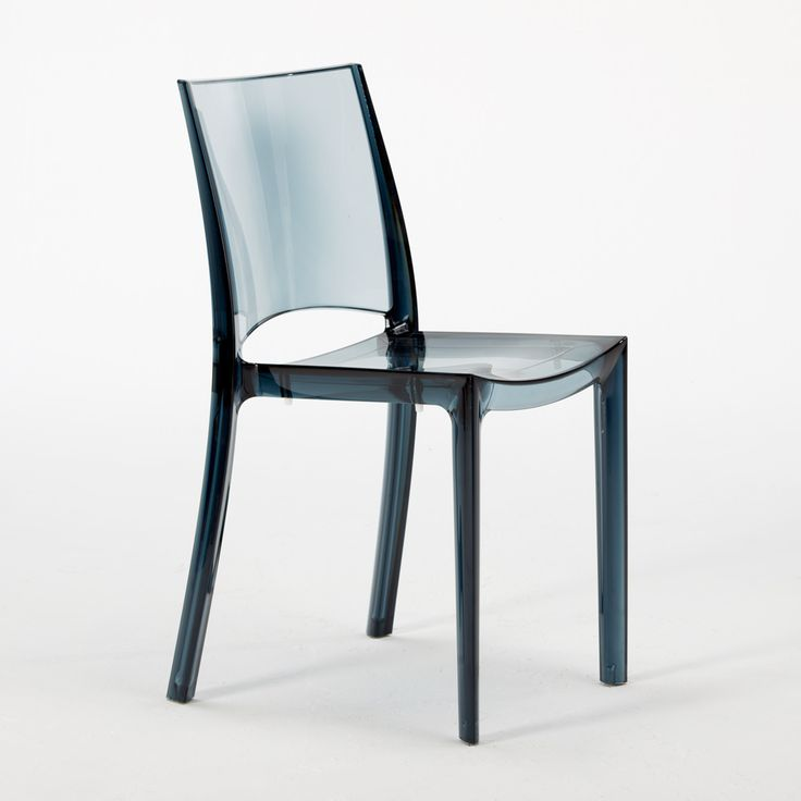 Transparent Design Chair in Polycarbonate Made in Italy ...