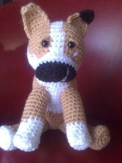 Amigurumi Boxer Dog : Amigurumi, Boxers and In spanish on Pinterest