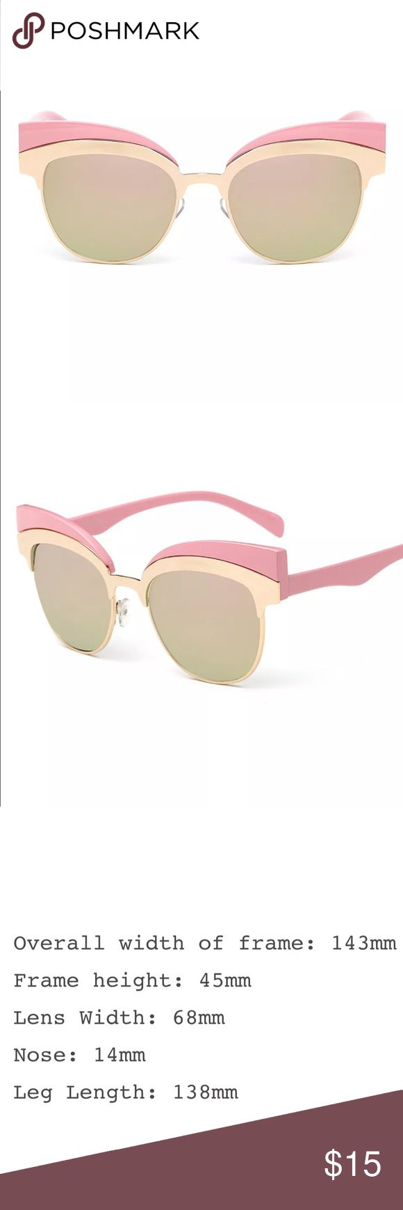 New✨ Pink & Gold Retro Cateye Sunnies 😍✨ New✨ Pink & Gold Retro Cateye Sunnies 😍✨  🔸Brand New✨ 🔸PRICE IS FIRM- already listed at lowest price  🔸If you want to save please look into bundling  🔸In Stock 🔸No Trades 🔸Will ship same day as long as order is received by 1:00pm PST Accessories Sunglasses
