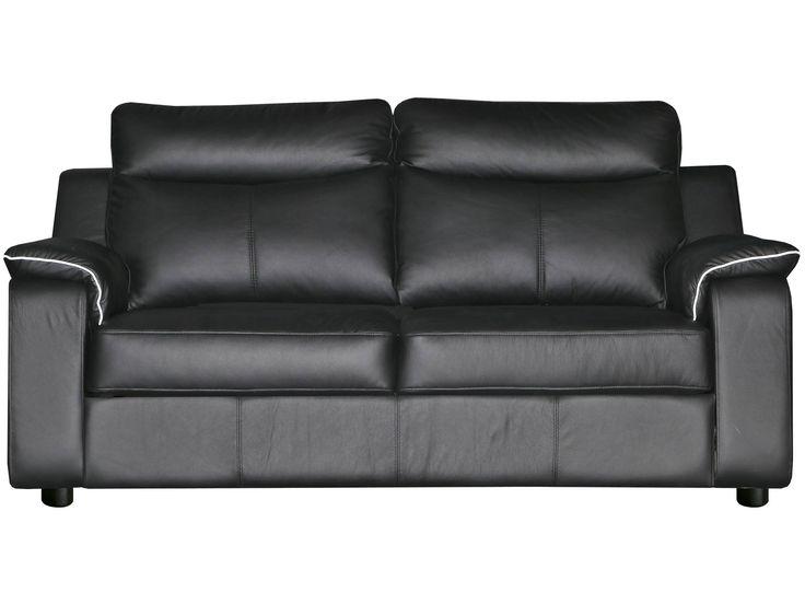 Leather Linear Sofa - Pinskdrev factory