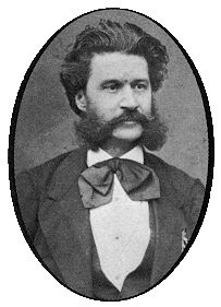Johann Strauss the Younger, the most famous and enduringly successful of nineteenth-century light-music composers, was born in Vienna on 25 October 1825. His father, Johann Strauss the Elder, was by that time well on his way of becoming Europe's uncrowned king of dance music. Indeed, it was only with Strauss senior's untimely death in 1849 that the younger man could advance his own musical standing in his native Vienna.