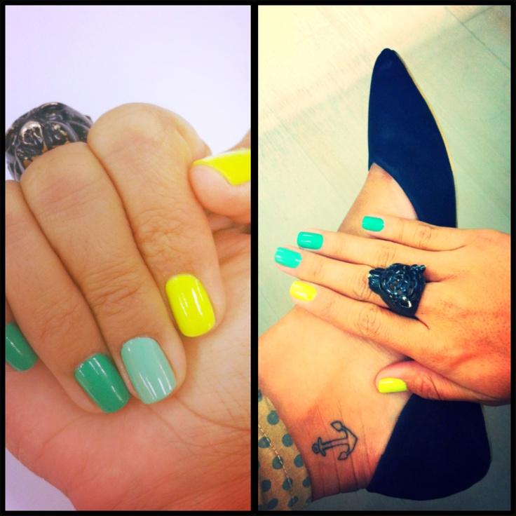 Fashion...Color! Toy nail polish