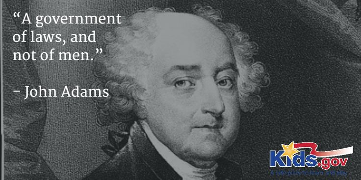 """""""A Government Of Laws, And Not Of Men."""""""