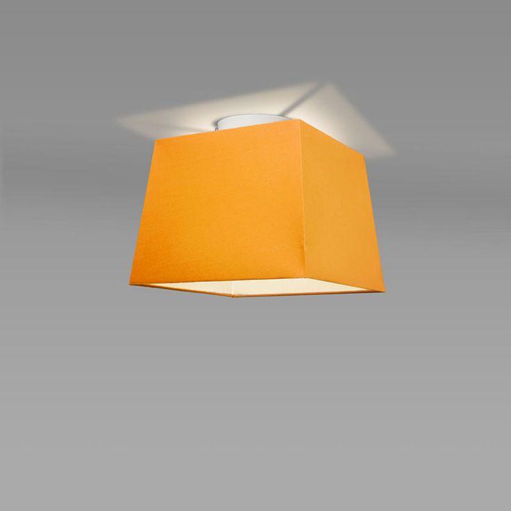 Spectacular Deckenleuchte Ton quadratisch orange kinderzimmer deckenleuchte orange einrichten wohnen