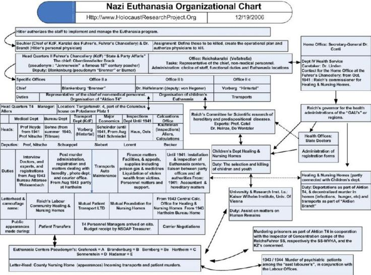 the euthanasia program of nazi germany during world war ii Action t4 map of euthanasia in germany  the euthanasia program, or systematic killing policy of nazi  regime in 1945 at the conclusion of world war ii.
