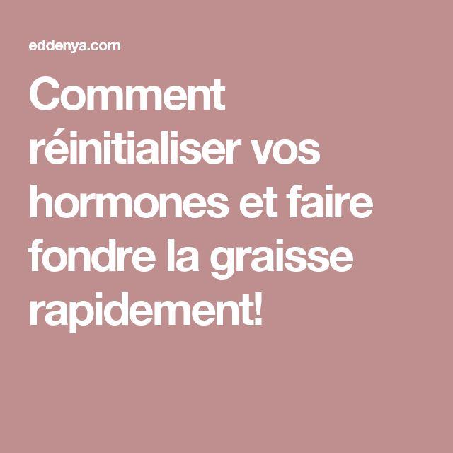 Comment réinitialiser vos hormones et faire fondre la graisse rapidement! lire la suite / http://www.sport-nutrition2015.blogspot.com