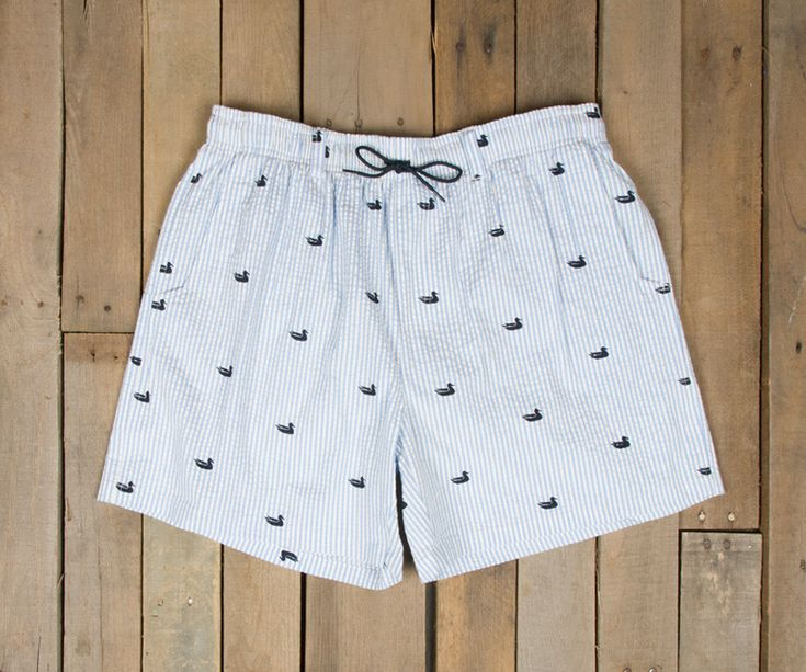 Our first take on coastal wear and we're pretty sure we nailed it. Whether it's fishing off the boat, or having a few drinks by the pool The Dockside Swim Tr...