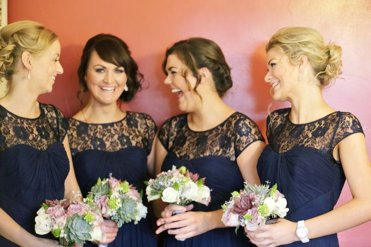 Bridesmaid Inspiration- Mix Or Match Your Beautiful Maids? - West Coast Weddings Ireland