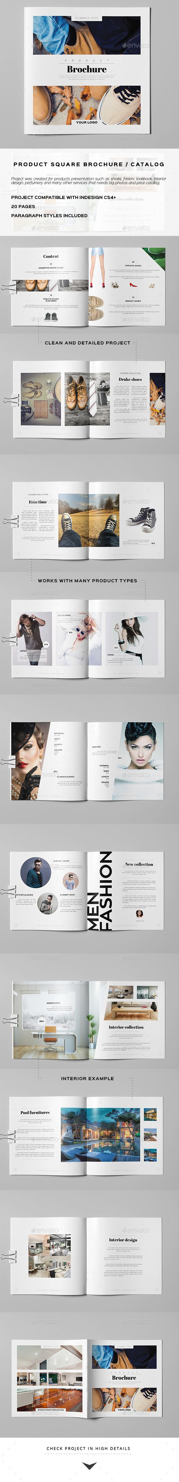 Product Square Brochure / Catalog