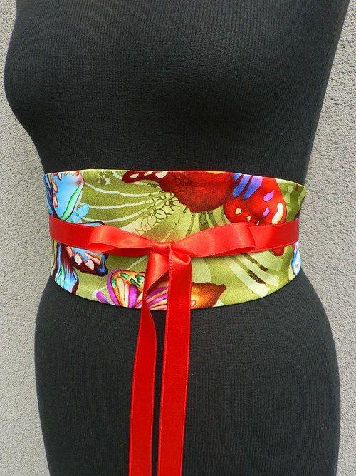 Satin belt colours by wandadesign on Etsy, €50.00