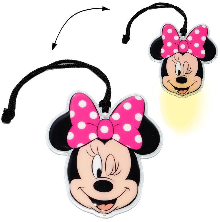 Der Spielzeugtester hat das flache _ Taschenlampe LED –  Disney Minnie Mouse  …