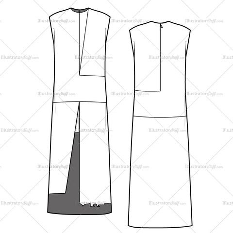 1000 images about technical drawing on pinterest flats sleeveless blouse and flat design. Black Bedroom Furniture Sets. Home Design Ideas