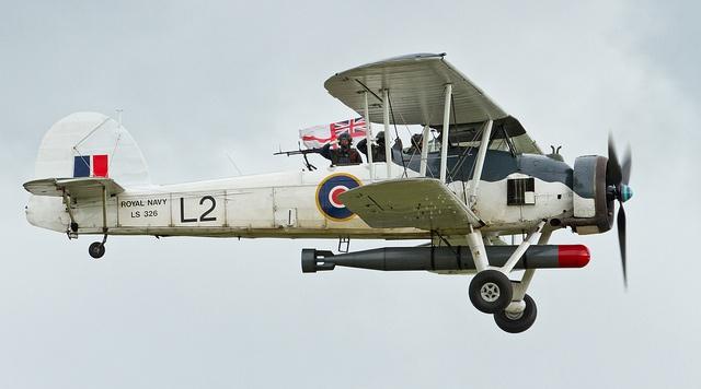 Fairey Swordfish II WW2 biplane - Royal Navy
