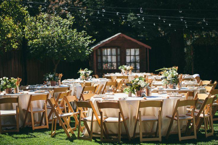 Elegant Backyard Wedding Ideas Best 25 Receptions On Pinterest