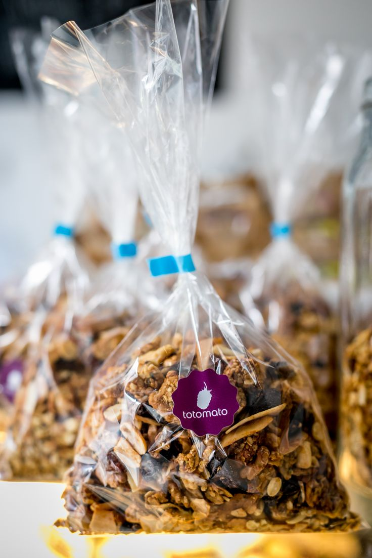 Home-made granola - 100% bio!