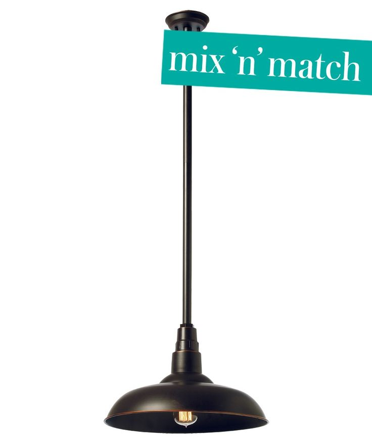 Manor 380mm Barn Metal Shade in Oil Rubbed Bronze