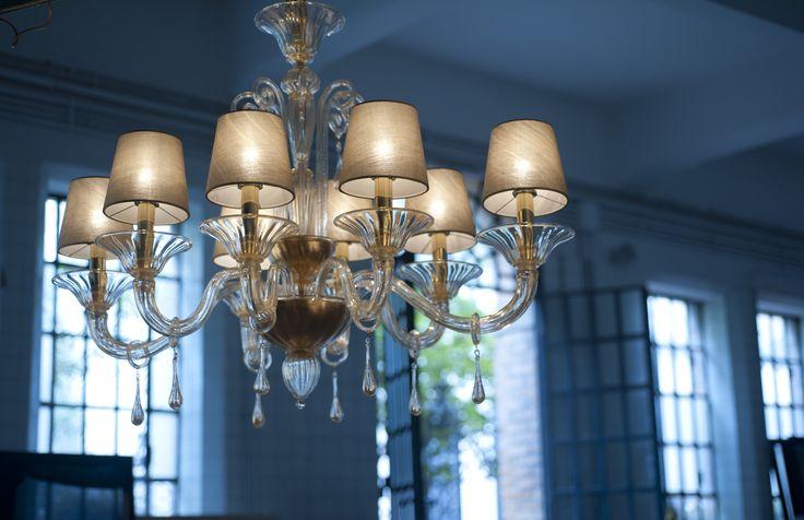 Bembo Gold #yourmurano #muranoglass #chandeliers