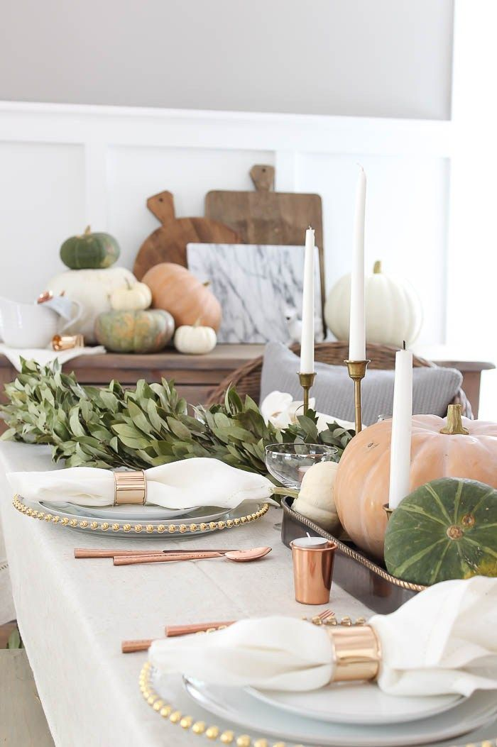 Thanksgiving Decorations Table Rooms For Fall Dinner Modern Farmhouse Decor Holiday Fun Ideas